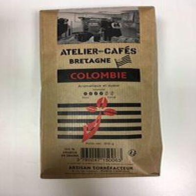 CAFE COLOMBIE 500GR GRAINS ATELIER DES CAFES ET THES
