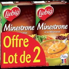 Liebig Potager De Minestrone À La Milanaise , 2 Briques De 1l