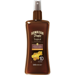 Spray huile spf10 HAWAIIAN TROPIC, flacon de 200ml
