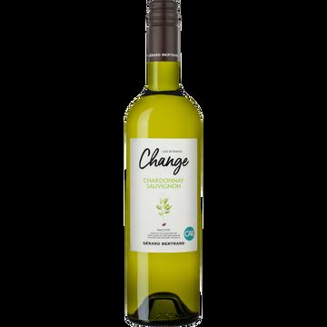 Viognier Vin Blanc Pays D'oc Chardonnay Igp Viognier Change, 75cl