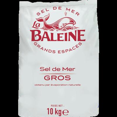 Gros sel de mer LA BALEINE, 10kg