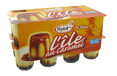 Ile au Caramel Vanille 100g x