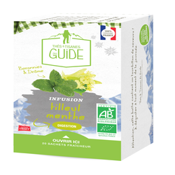 Infusion digestion bio TISANE DU GUIDE, x20 soit 25g