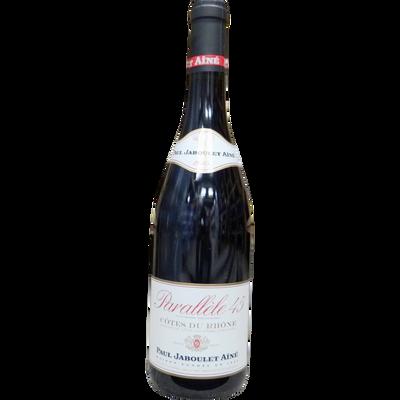 Côtes du Rhone rouge 45e parallèle, bouteille de 75cl