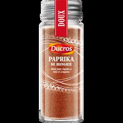 Paprika de Hongrie, DUCROS, flacon de 48g