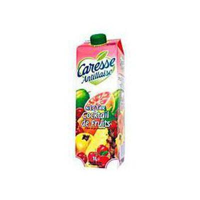 Nectar cocktail de fruits CARESSE ANTILLAISE, brique de 1l