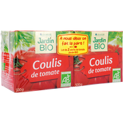 Jardin Bio Coulis De Tomate Bio Jardin Bio, 2 Briques De 500g