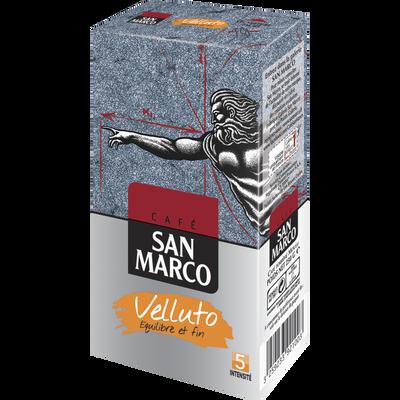 Café moulu Velluto SAN MARCO, paquet de 250g