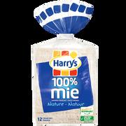 Harry's Pain De Mie 100% Mie Nature Grandes Tranches Harrys, 500g