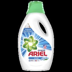 Lessive liquide alpine ARIEL, 1,815l soit 33 lavages