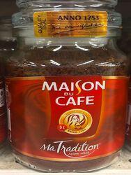 Café soluble Ma Tradition MAISON DU CAFE, 200GR