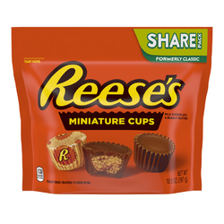 Cups miniatures beuure cacahuète choc.lait REESE'S 150g