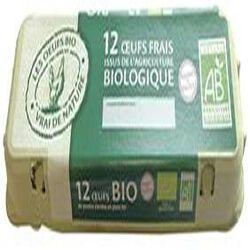 12 oeufs frais bio VAL D'EURRE