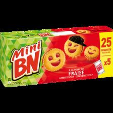 BN Mini  À La Fraise, 5 Pochons, 175g