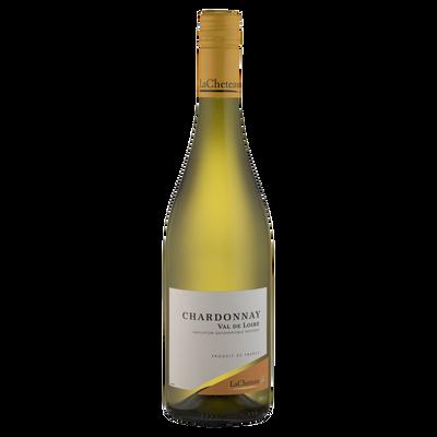 Vin blanc IGP Val de Loire Chardonnay LACHETEAU, 75cl