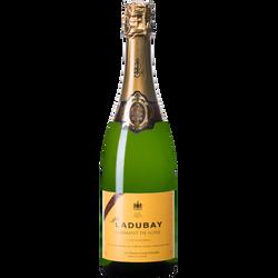 Crémant de Loire demi-sec MADEMOISELLE LADUBAY, bouteille de 75cl
