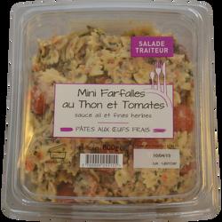 Mini farfalle thon, tomate et sauce ail & fines herbes MIX BUFFET, 800g