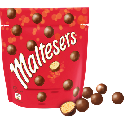 Céréales soufflées enrobées de chocolat MALTESERS, 192,5g