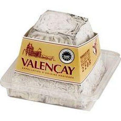 Pyramide de Valençay AOP au lait cru de chèvre, 25%MG 220g