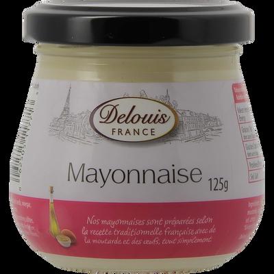 Mayonnaise DELOUIS, pot de 125g