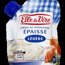 Elle & Vire Crème Légère Épaisse , 12% De Mg, 33cl