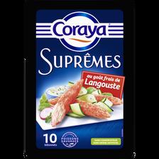 CORAYA suprêmes goût langouste, x10, 156g