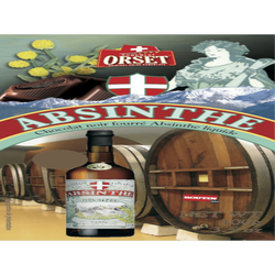 Tablette absinthe liquide ORSET, 100g