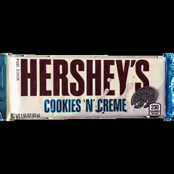 Barre cookies cream HERSHEY, 43g