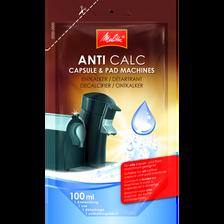 Détartrant liquide pour machine MELITTA, unidose 100ml