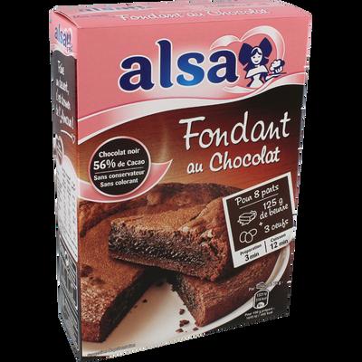 Préparation pour gâteau au chocolat Le Fondant de Mamie ALSA, 320g