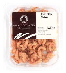 CREVETTES GRISES EPLUCHEES 100G - PALAIS DES METS