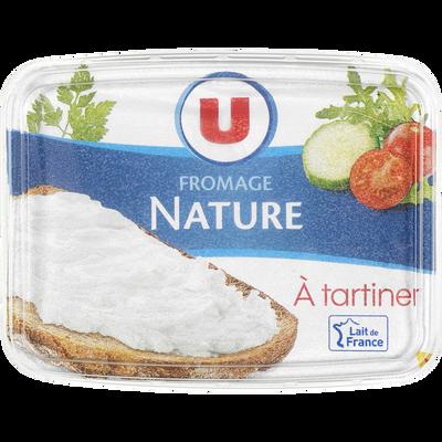 Fromage nature au lait pasteurisé 21,5%mg U 150g