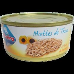 Miette thon à l'huile de tournesol ribeira, boîte 1/5, 160g