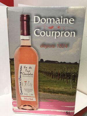 BIB DOMAINE COURPRON  MERLOT ROSE 5L