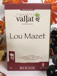 VDF Pays d'Oc - Domaine les Thérons - Lou Mazet rouge 5L