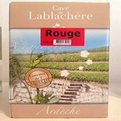 BIB 5L rouge cave de Lablachère