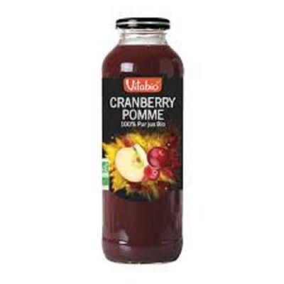 Purs Jus Cranberry Pomme bio Vitabio 50cl
