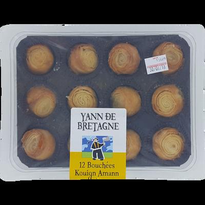 Bouchée kouign amann, 12 pièces, 250g
