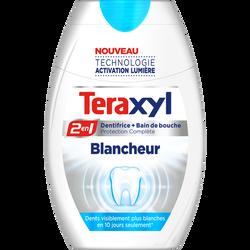 Dentifrice liquide 2 en 1 blancheur TERAXYL, tube 75ml