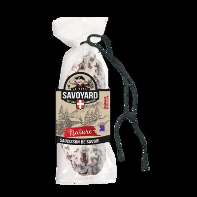 Saucisson sec pur porc nature LE PETIT SAVOYARD, 200g