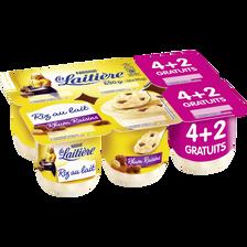 Nestlé Riz Au Lait Rhum / Raisins La Laitiere 4x115g + 2 Offerts