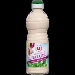 Vinaigrette allégée en matières grasses à l'échalote U, bouteille de 500ml