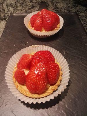 Tartelettes aux fraises X2