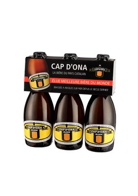PACK 3X33CL BLONDE CAP DONA