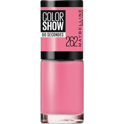 Vernis à ongles colorshow 262 pink boom MAYBELLINE, nu