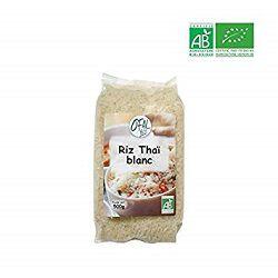 Riz thaï blanc long grain, OFAL BIO, le paquet de 500g