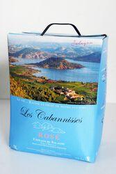 Vin Rosé IGP Les Cabannisses Salagou Sud de France Liausson Bib 5L
