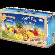 Capri-Sun Capri Sun Fruit Crush Tropical, 10 Poches De 20cl