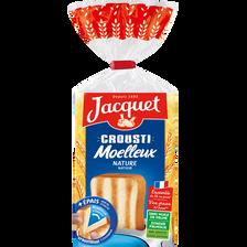 Jacquet Pain De Mie Crousti Moelleux Nature , Paquet De 730g