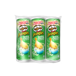 PRINGLES s.cream&onion, 3x175g